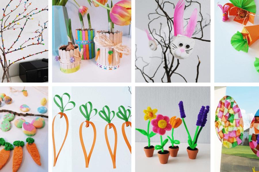 Ostern basteln Kinder Anleitung Ideen